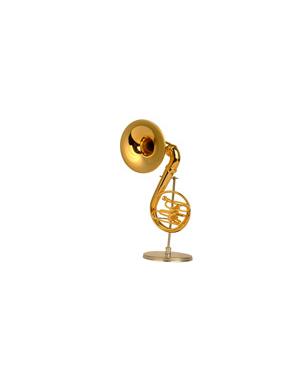 Miniaturas Sousáfono Music Art Gold Base y Estuche