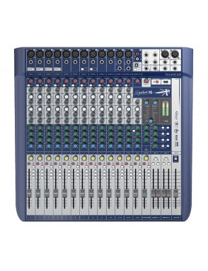 Soundcraft® by HARMAN Mezclador Signature 16 Canales