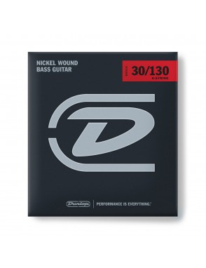 Dunlop® Cuerda Bajo Eléctrico 6 Cuerdas Medium 30-130