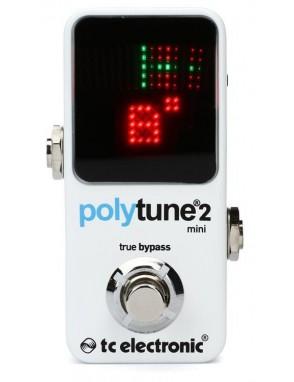 TC Electronic® Afinador Polifonico Polytune 2 mini Pedal