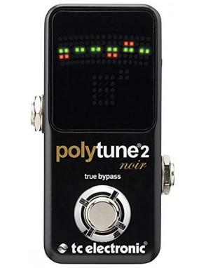 TC Electronic® Afinador Polifonico Polytune 2 Noir Pedal