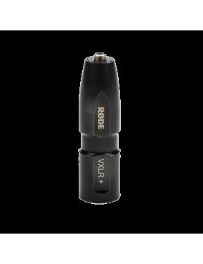 RØDE® Adaptador Conector VRLX + TRS hembra 3.5 mm a XLR macho Conertidor Phantom