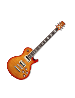 Charvel® Guitarra Eléctrica Desolation™ DS1 Pro Stock Color: Cherry Sunburst