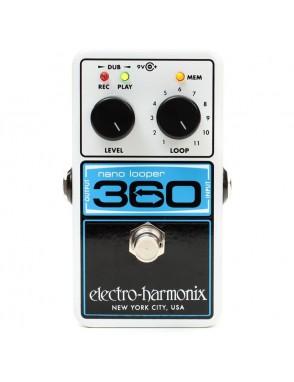 Electro-harmonix® Pedal Looper 360 Nano