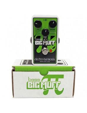 Electro-harmonix® Pedal Bajo Fuzz Big Muff Nano
