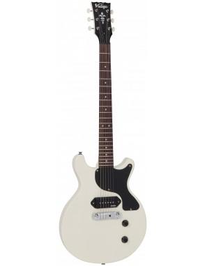 Vintage® guitarra electrica Serie vrs vr130 vintage white