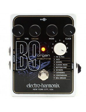 Electro-harmonix® Pedal Synth Organ Machine B9