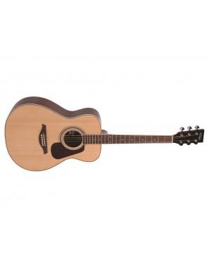 Vintage® guitarra electrica distressed gastadas V6 icon series distressed boulevard black