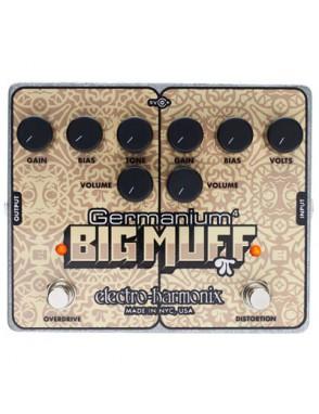 Electro-harmonix® Pedal Guitarra Overdrive Germanium 4 Big Muff Pi