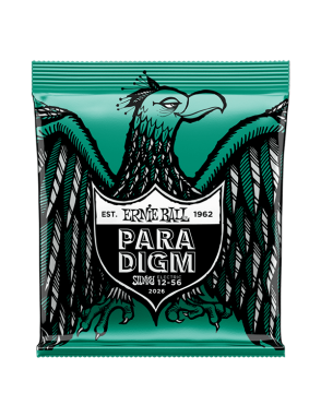 Ernie Ball® Cuerdas Guitarra Eléctrica 6 Cuerdas 2026 PARADIGM Not Even Slinky 12-56