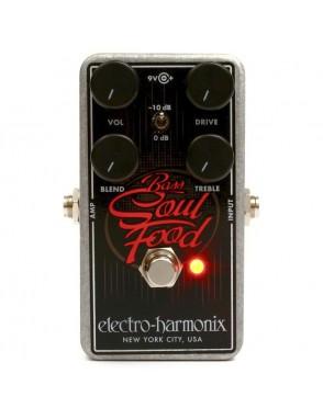 Electro-harmonix® Pedal Bajo Overdrive Soul Food