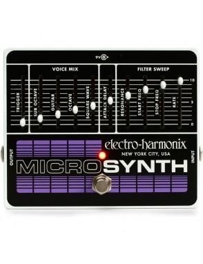 Electro-harmonix® Pedal Guitarra Micro Synthesizer Análogo