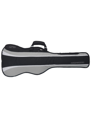 MADAROZZO® Funda Ukelele Barítono MADElegant™ G0030-BG Acolchado 10mm Color: Black/Grey