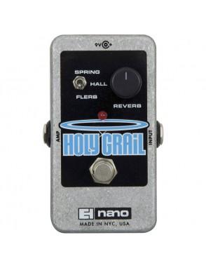 Electro-harmonix® Pedal Guitarra Reverb Nano Holy Grail