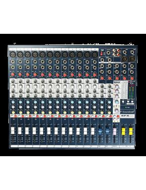 Soundcraft® By Harman Mezclador  EFX™ EFX12 12 Canales