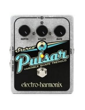Electro-harmonix® Pedal Guitarra Tremolo Pulsar Estéreo