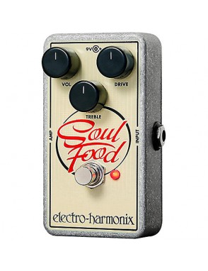 Electro-harmonix® Pedal Guitarra Overdrive Soul Food
