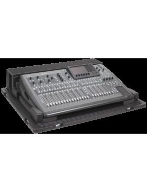 SKB® Case Resina Audio Mixer 1RMX32-DHW para Behringer X32 con ruedas