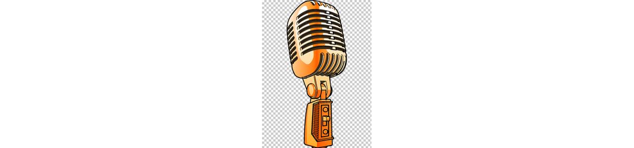 Micrófonos  Grabación en Vivo o Estudio